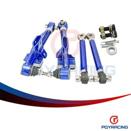 Wholesale S13 Control Arms - PQY RACING- FRONT LOWER CONTROL ARM For NISSAN S13 Adj Front Lower Control Arm - Blue Color PQY9831