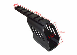 Wholesale Mount For Glock - Aluminum Low Scope Mount Base With Single Picatinny Rail 6 Slots For GLOCK G17 G18 Type Airsoft GBB