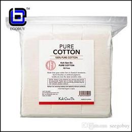 Wholesale Did Tanks - Japanese japan cotton pads 100% koh gen do organic cotton pad for triton atlantis subox subtank arctic goblin goliath TFV4 isub evic-vt tank