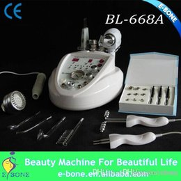 Wholesale Diamond High Frequency - 7 in 1 Fashion Design Beauty Instrument High Frequency diamond tip Microdermabrasion machine