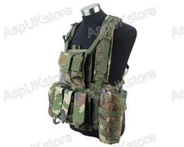 Wholesale Tactical Vest Woodland - Fall-2015 new 1000D Tactical Vest Woodland Camo free shipping