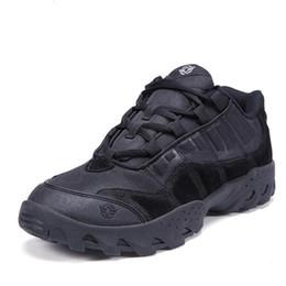 Zapatos de senderismo de los hombres a prueba de agua con cordones zapatos de trekking escalada al aire libre zapatilla de deporte para senderismo de montaña botas zapatos de camping táctico desde fabricantes