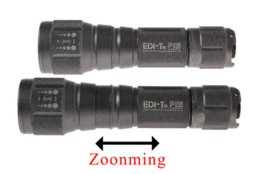Wholesale T Cree Flashlight - Clearance Sales EDI-T P5 1*CREE XP-E Q3 3-Mode 300LM Zoomable Larterna Lartern LED Flashlight New Year Christmas Light Gift