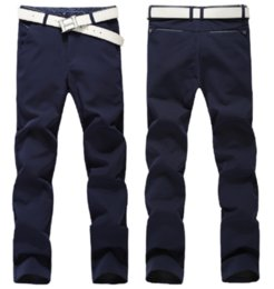 Wholesale Tapered Dresses - Men's Slim Tapered Stretchy Casual Pant Stylish trousers skinny pants Straight-Leg Jeans Trousers Casual Skinny Pencil Dress Pants