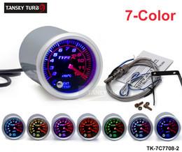 "Wholesale Car 52mm - Tansky Universal Cars' Meter   Gauge TYPE-R 2"" 52 mm 7 COLOR Exhaust Gas Temperature EGT Gauge TK-7C7708-2"