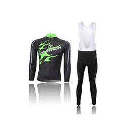 Wholesale Merida Jacket - 2105 merida men cycling Jersey kits in winter autumn with long sleeve bike jacket & (bib) pants in cycling clothing, bicycle wear