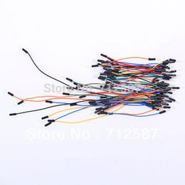 Проволочные перемычки онлайн-65 шт. перейти провода мужчин и мужчин перемычку для Arduino макет бесплатная доставка