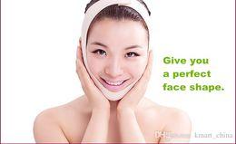 Wholesale Skins Pretty - Thin face mask face slimming mask face care skin pretty chin face Cheek slimming v-line face lift bandage slim mask anti-sag beauty facemask