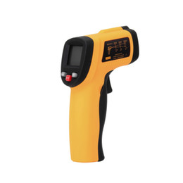Wholesale Infrared Laser Thermometers - GM550 Digital Non-Contact -50 To 550 degree LCD IR Laser Infrared Thermometer Themperature Measurement Electronic Point Gun