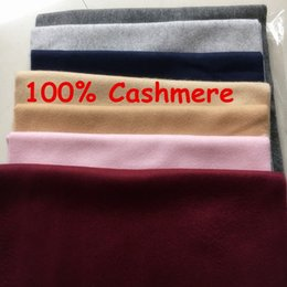 Wholesale Men Red Scarf - Winter Top Unisex 100% Cashmere Scarf For Women and Men 2018 Brand Luxury Classic Check Scarfs Pashmina Women Designer Shawls and Scarves