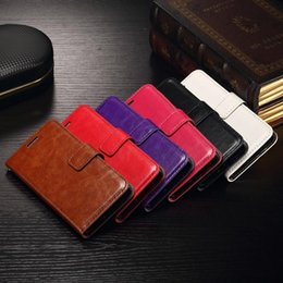 Wholesale Xperia Vintage Case - For Sony Xperia Z5 Z5 mini Vintage Retro Wallet Leather Case flip Cover Magnet With PhotoFrame Stand Credit Holder