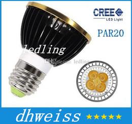Wholesale 4x3w Mr16 Led 12v - LED REE High Power MR16 GU10 E27 B22 GU5.3 4x3W 12W 3*5W 15W Spotlight Lamp 4 CREE LED 12V Light Bulb Downlight
