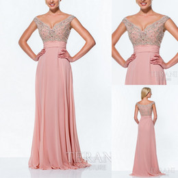 Wholesale Evening Dress Embellished - Evening sequins beaded off the shoulder prom dresses party evening formal gowns crystal embellished A058782