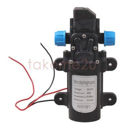 Wholesale High Water Switch - DC 12V 60W High Pressure Micro Diaphragm Water Pump Automatic Switch 5L min KK#Y