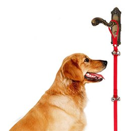 Wholesale Housing Supplies - Pet Doorbell Rope Dog Toy House Training And Communicate Alarm Door Bell For Dogs Convenient And Practical Pet Supplies
