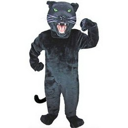 Wholesale Used Mascot Costumes - Hot sales Can be washed with water EVA Material helmet Used multiple times panther Mascot Costumes cartoon Apparel 0375