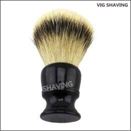 Wholesale Silvertip Badger Hair Shaving Brush - Resin handle knot 26mm silvertip badger hair shaving brush handle hanger handle connector handle connector