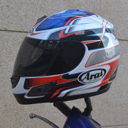 Casco de la motocicleta del envío al por mayor-libre casco completo ARAI casco de la cara llena DOT desde fabricantes