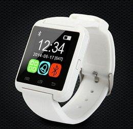 Wholesale Touch Wristwatches - U8 Watch SmartWatch Touch screen WristWatch For iPhone Samsung HTC LG Huawei Android Cell Phone Smartphones Answer And Dial Free Shipping
