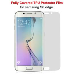 Argentina para Nota 9 S9 S9 + S9 plus Protectores de pantalla 3D TPU completamente cubiertos para S8 plus S8 + Galaxy S6 S7 edge Parte delantera Parte trasera Suministro