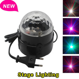 Wholesale Move Magic - Wholesale-2015 New Moving Head Laser Projector Sound Lights Digital RGB LED Crystal Magic Ball Stage Effect Light Disco Home Entertainment