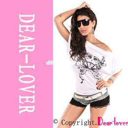 Wholesale Tribal Print Dolman Sleeve Top - spring summer 2014 dear lover shirt women Ladies Top, sexy Tribal Printed Dolman Sleeve Top LC25031