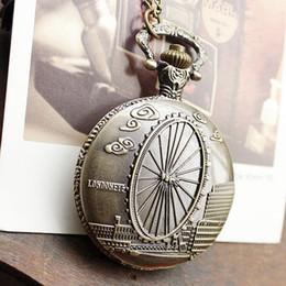 Wholesale Vintage Watches For Sale - Guitar Nurse Watch 2015 Hardlex Quartz Dropship New Arrival Hot Sale Russia Bronze London Eye Vintage Necklace Clock For Ladies