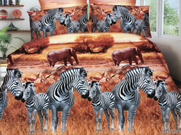 Wholesale 3d oil painting bedding 4pcs - Christmas Gift 3D Oil Painting Bedding Sets Duvet Covers 4Pcs of bedding sets luxury Bed sheet Pillowcase bedclothes Home textile
