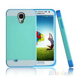 Галактика s4 мини-чехол телефона онлайн-Классический гибридный удар жесткий чехол обложка кожи телефон чехол для Samsung Galaxy S4 mini i9190 чехол модный 008Y