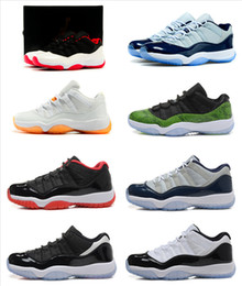 Wholesale Popular Retro Basketball Shoes - Popular Retro 11 XI Basketball shoes AAA Quality Jumpmen Men's Retro 11 Low Cut Basketball Sport Footwear Sneakers Trainers Shoes