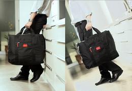 Wholesale Travel Suitcase Wheels - 2015 Foldable Nylon Suitcase Hand Luggage Cabin Small Wheeled Travel Folding Flight Bag Large Capacity Case Travel Insert Handbag 100pcs LB4