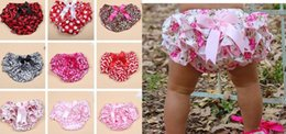 Wholesale Infants Gifts - Lovely Baby Infant satin PP Pettiskirt Pants boxers Toddler Bloomers Ruffle Briefs 10colors S.M .L 0-3Y gift