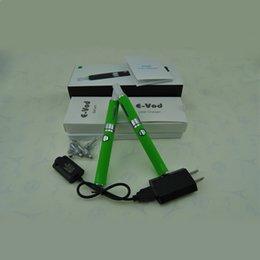 Wholesale Electronic Cigarette Double Pack - double EVod BCC MT3 Starter kits pack Electronic Cigarette mt3 Rechargable atomizer eVod Battery 650mah 900mah 1100mah DHL free 10pcs