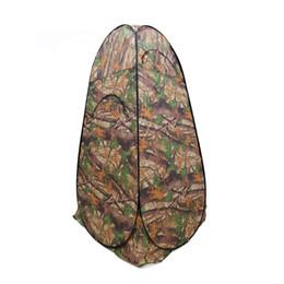 Toilette portative en gros en Ligne-Tente de douche en gros-Portable portable pour tente de pêche de camping avec sac de transport pour randonnée, tente de toilette de camping