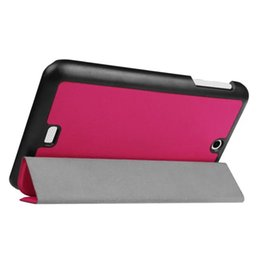 """Wholesale Cover Tablet Acer Iconia B1 - 100pcs Ultra Slim PU Leather Case Stand Cover for 7"""" Acer Iconia One 7 B1-770 Tablet PC + Screen Protector Protective Film"""