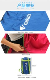 Wholesale Super Areas - Wholesale-The Blue Area Super Light Cotton Sleeping Bag Outdoor Camping Sleeping Bag Nap Hotel Hygiene