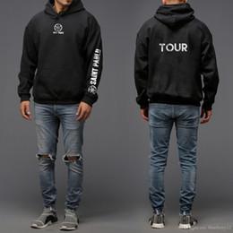 Wholesale Mens Xxl Belts - Saint Pablo Mens Hoodies Kanye Pullover Sweatshirts autumn winter men coat hoodie men size M-XXL free shipping