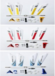 Wholesale Helicopter Head Shaft - Full Replacement Parts Set for Syma S107 S107G RC Helicopter(Blades,Tails,Balance Bar,Shaft,Gears) 4Q117