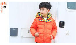 Wholesale High Quality Winter Children Coats - Winter new male and female children with high-quality foreign trade hooded child down jacket down jacket wholesale to keep warm BH1328