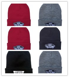 Wholesale Mask For Wall - Cheap winter hats for men Women van off the wall beanie knitted wool Fashion gorro Bonnet touca plus Warm Wool cap Thicker mask ski beanies
