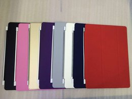Wholesale Spain Leather - 2015 New Arrival Hot Sale Ultra Thin Magnetic Leather Smart Cover Case For iPad Pro