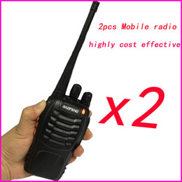 Wholesale Walkie Talkie Bao Feng - Wholesale-2pc hf Portable Sets cb Radio Walkie Talkie Pair For Police Equipment Scanner Bao Feng baofeng bf 888s Walky Talky Professional