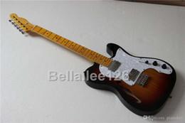 Argentina La guitarra eléctrica tele del cuerpo hueco al por mayor de encargo al por mayor del OEM, acepta el material y el hardware de la mejora, guitarras vendedoras calientes del envío libre Suministro