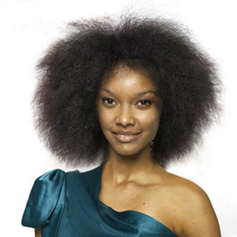 short curly celebrity hair Promo Codes - Fashion Men Women Short BOB Synthetic Wig Celebrity Cheap Wigs Online Kinky Curly Hair For African American Top Quality Full Wigs
