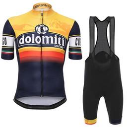 Wholesale Italia Cycling - 2017 hot Tour De Italy D\'ITALIA Men\'s Cycling Jersey Bike Clothing Short Sleeve Bicycle shirt +Bib Shorts Set Ropa Ciclismo B1708