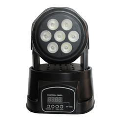Wholesale Club Lights Moving - LED moving head wash light Equipped with 7*10W RGBW 4in1 led Dj Light stage lighting for dj club,party