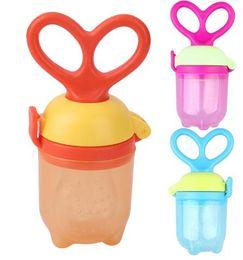 Wholesale Baby Milk Nipple - Baby Pacifier Fresh Food Milk Nibbler Feeder Kids Nipple Feeding Safe Baby Supplies Nipple Teat Pacifier Bottles KKA3580
