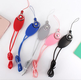 Wholesale Ring Data - 3 in 1 Micro USB Charger Cell Phone Data Cables 1M 3Ft Sync Data Cable Cords Lanyard Ring Buckles Play