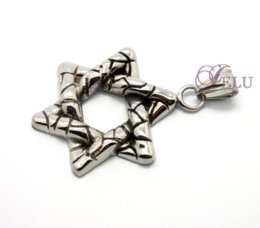 Wholesale Horn Bone Jewelry - Stainless Steel Pendant Five-pointed star Skull Bones Charm Pendants New Hot sell Fashion Jewelry Charms Pendants Super cheap