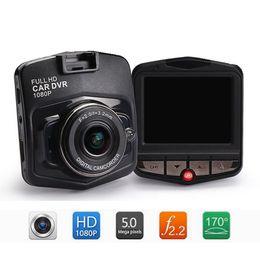 Wholesale Korean Lenses Wholesale - GT300 Car Dvr Camera Camcorder HD DVR Dash Camera Camcorder 2.4 inch 1080P Car Camcorder DVR Night Virsion Wide Angle Lens